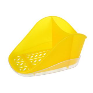 """Подставка для моющего средства и губки """"Teo plus"""" (лимоный) ИК 186"""