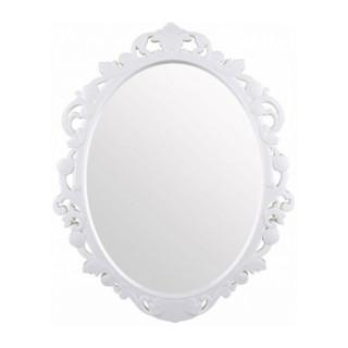 """Зеркало в рамке  """"Ажур"""" (белый)"""